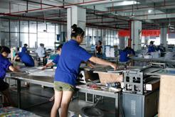 海虹彩印公司生产车间一角