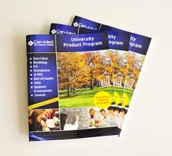 University product program骑马订画册印刷