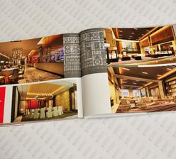 三树设计  锁线精装企业画册印刷